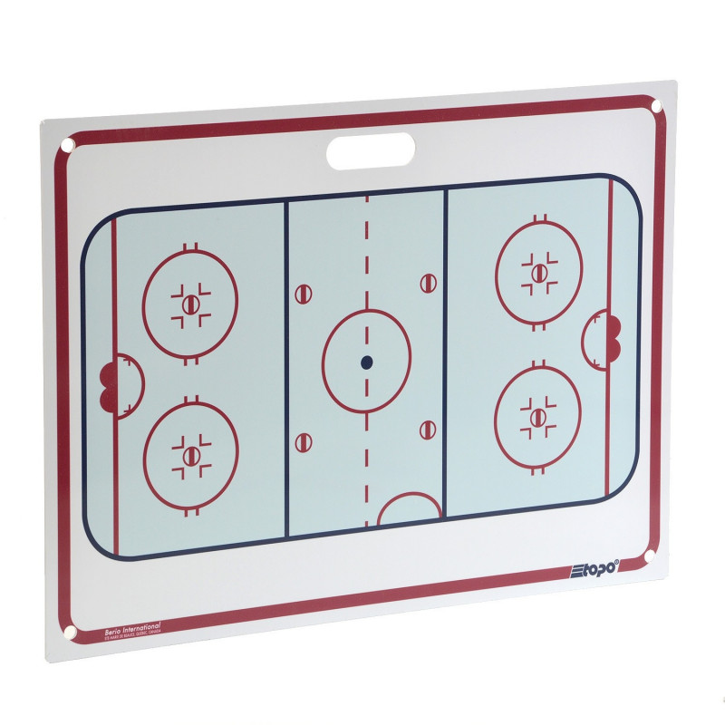Berio hockey coach board -  71 x 51cm