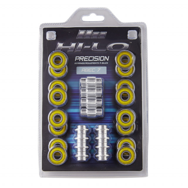 HI-LO ABEC 7 608 bearings for inline skates