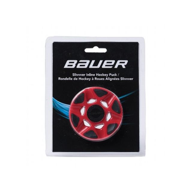 Bauer SlivVver puck for roller hockey