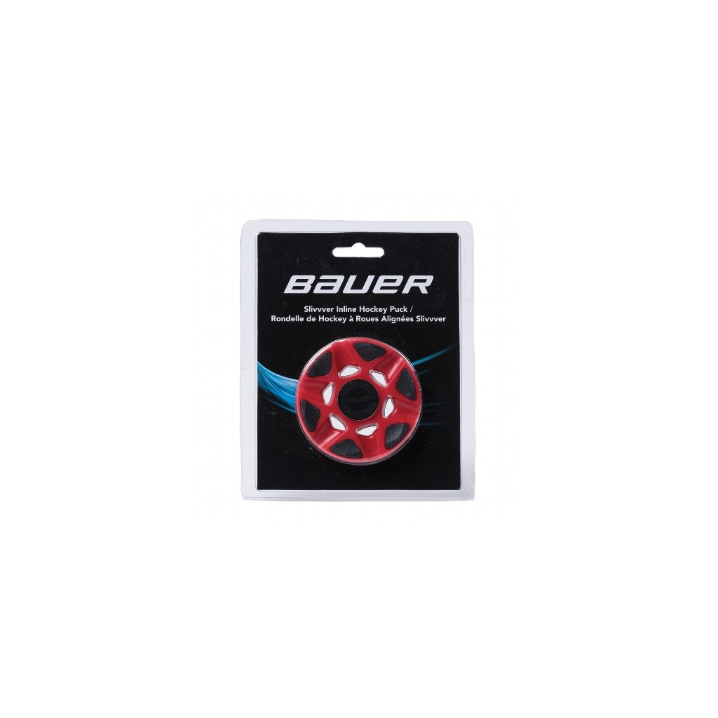 Bauer SlivVver puck for roller hockey