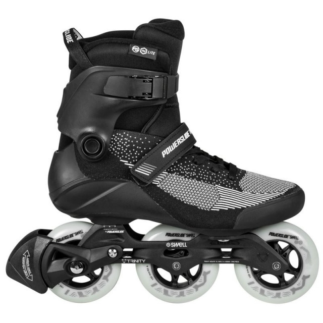 Powerslide Swell lite black 100 fitness skates - Senior